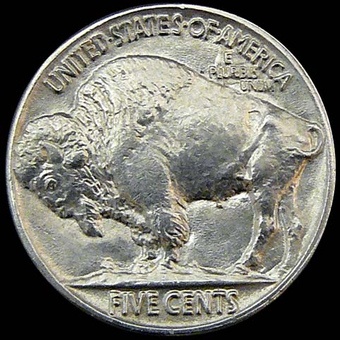 Buffalo Nickel - Other View Of Slouch (The Hobo)