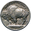Buffalo Nickel - Reverse Of Die Hard Series - Yankees