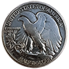 Bald Eagle - Reverse Of Dogfight Half Dollar Engraving