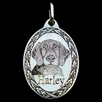 Harley German Shorthaired Pointer Pendant