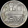 A Little Steam Engine Hobo Nickel