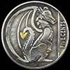 Dragon Tails Hobo Nickel