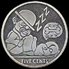 Dusty And Digger Sweet Dreams Hobo Nickel