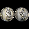 Fifer And Drummer - Reverse Of Drummer - Fife And Drum Hobo Nickel