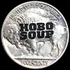 Buffalo Nickel - Reverse Of Lem The Hobo Soup Guy Hobo Nickel