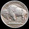 Buffalo Nickel - Reverse Of Mary Hobo Nickel